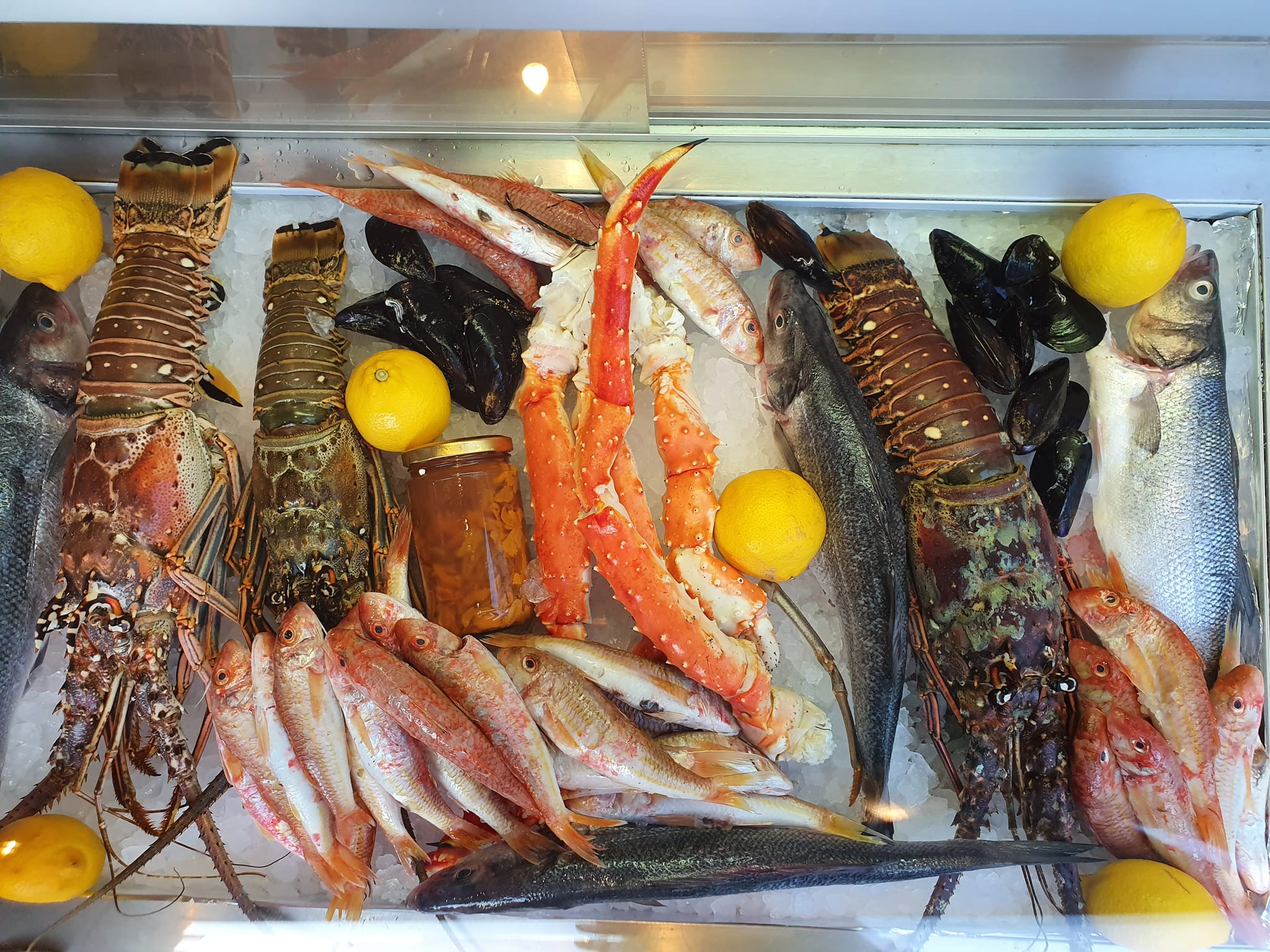 Fresh Lobster In Kos Town Prepared And Served With Care